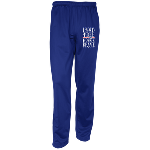Land Of The Free Sport-Tek Youth Warm-Up Track Pants
