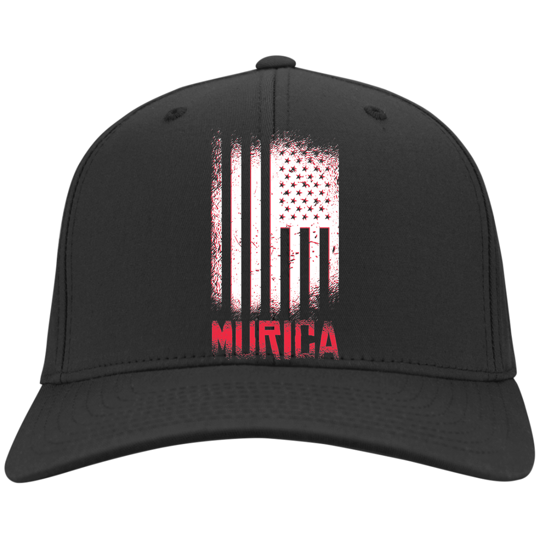 USA Murica FLEXFIT Twill Baseball Cap