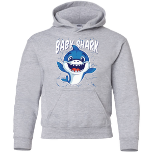Baby Shark Youth Pullover Hoodie