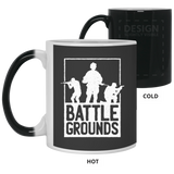 Battle Grounds 11 oz Color Changing Mug