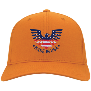 Made In USA FLEXFIT Twill Baseball Cap