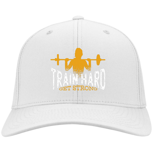 Train Hard Flex Fit Twill Baseball Cap
