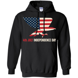 Independence Day Pullover Hoodie 8 oz.