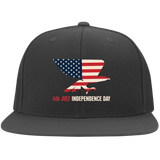 Independence Day FLEXFIT Flat Bill Twill Cap
