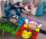 Comic Pop Art Rectangular Coffee table (USA ONLY)