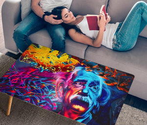 Albert Graffiti Rectangular Coffee Table (USA ONLY)