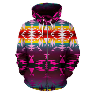 Between the Appalachian Mountains Sokapi Zipper Hoodie