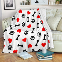 Dog Love Premium Blanket