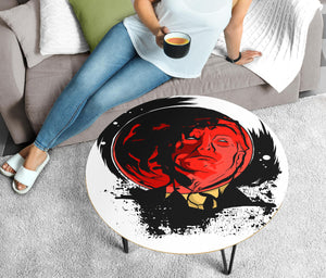TRUMP Blood Moon Circular Coffee Table (USA ONLY)