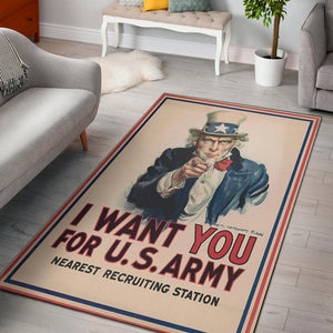 Uncle Sam Quality Area Rug