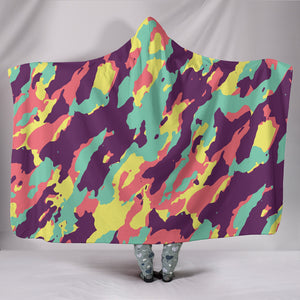 Camo Limited edition Hooded Blanket