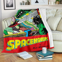 Spacehawk Comic Premium Blanket