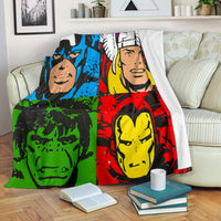 Pop Art Limited Edition Premium Blanket