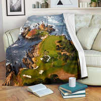 Cypress Point Pebble Beach Premium Blanket