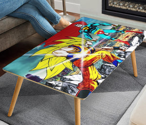 Dragonball Superman Rectangular Coffee Table