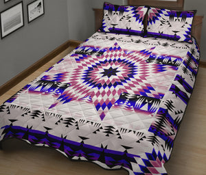 White Canyon Star Quilt Bed Set