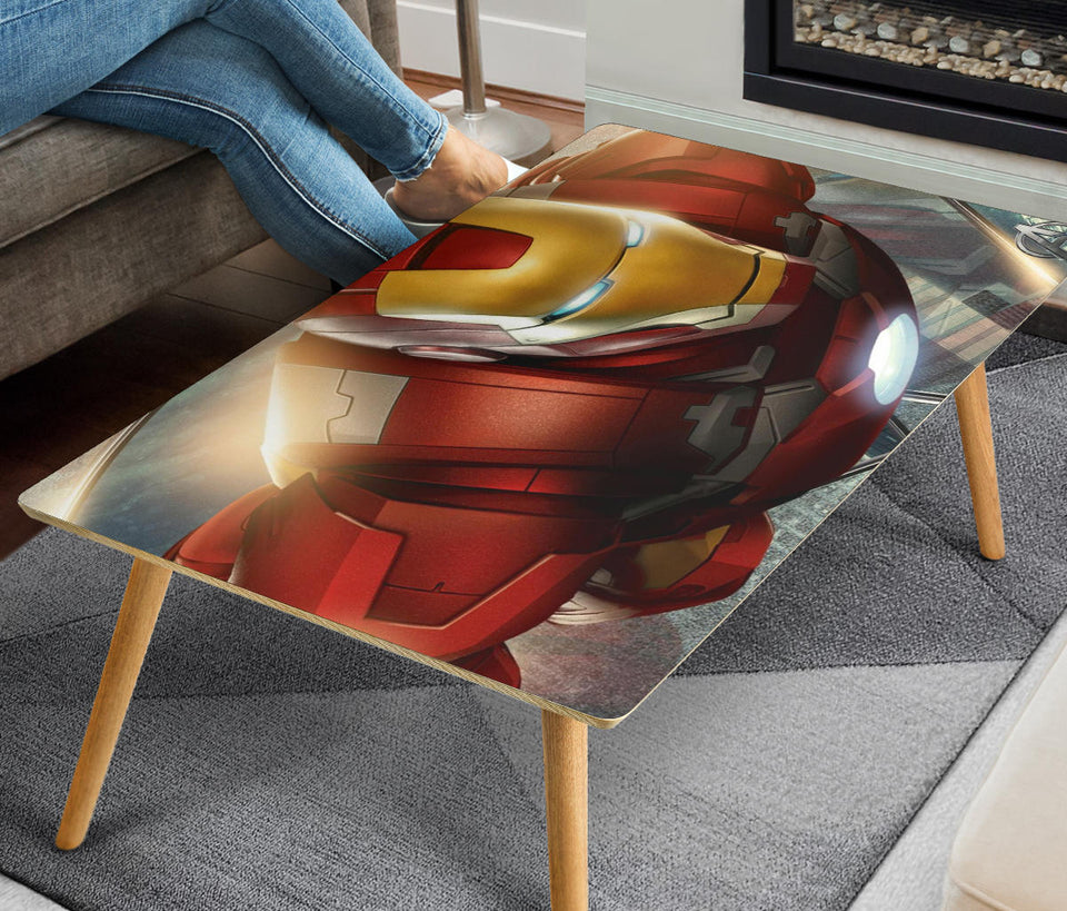 Iron Man Rectangular Coffee Table (USA ONLY)