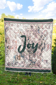 Joy - Rose/Gry Quilt