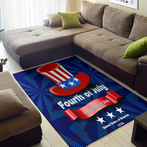 Independence Day Hat Area Rug