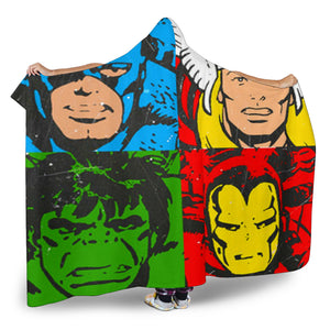 Pop Art Hooded Blanket