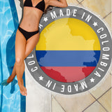 Made In Colombia Beach Blanket