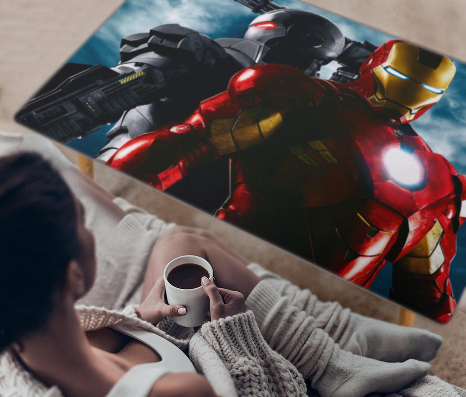 Iron Patriot Rectangular Coffee Table (USA Only)