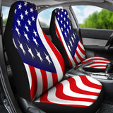 USA Flag Car Seat Covers