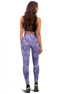 Camo Leggings Purple