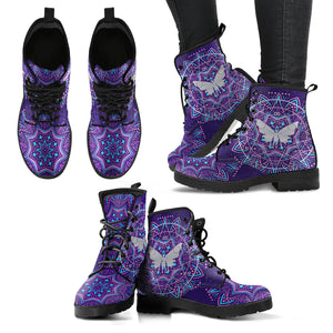 Alchemy Butterfly Handcrafted Boots