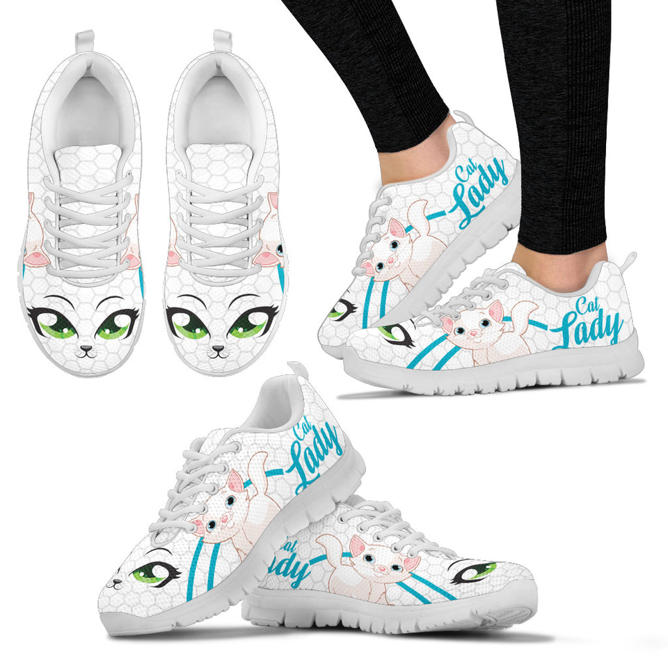 Cat lady Women's Sneaker