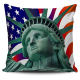 Liberty Flag Pillow Cover