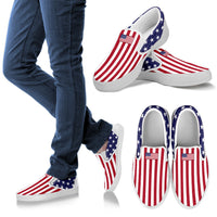 Stylish America Theme Men's Slip on