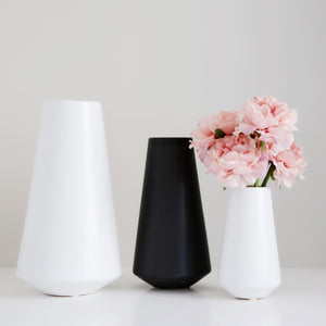 Black and White Vase