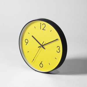 SOLID COLOR ART CLOCK