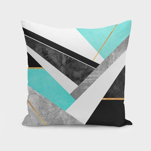 Lines & Layers Pillow Case