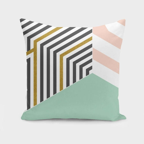 Mint&Gold Room Pillow Case