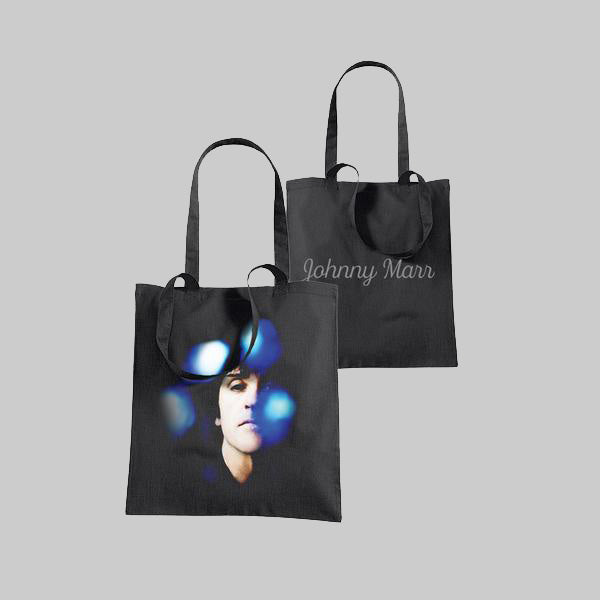 ALBUM COVER BLACK TOTE BAG