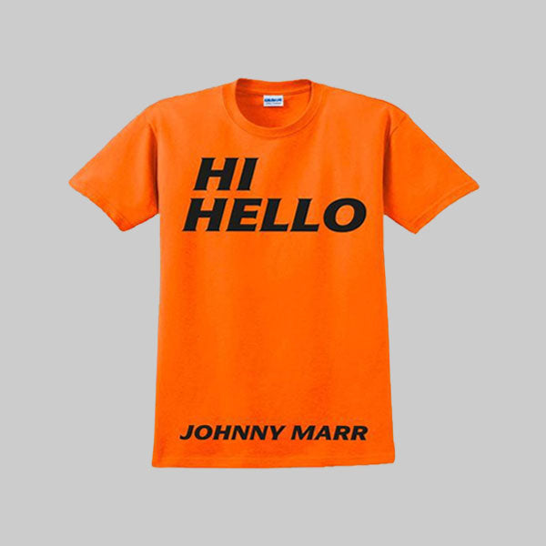 HI HELLO ORANGE T-SHIRT