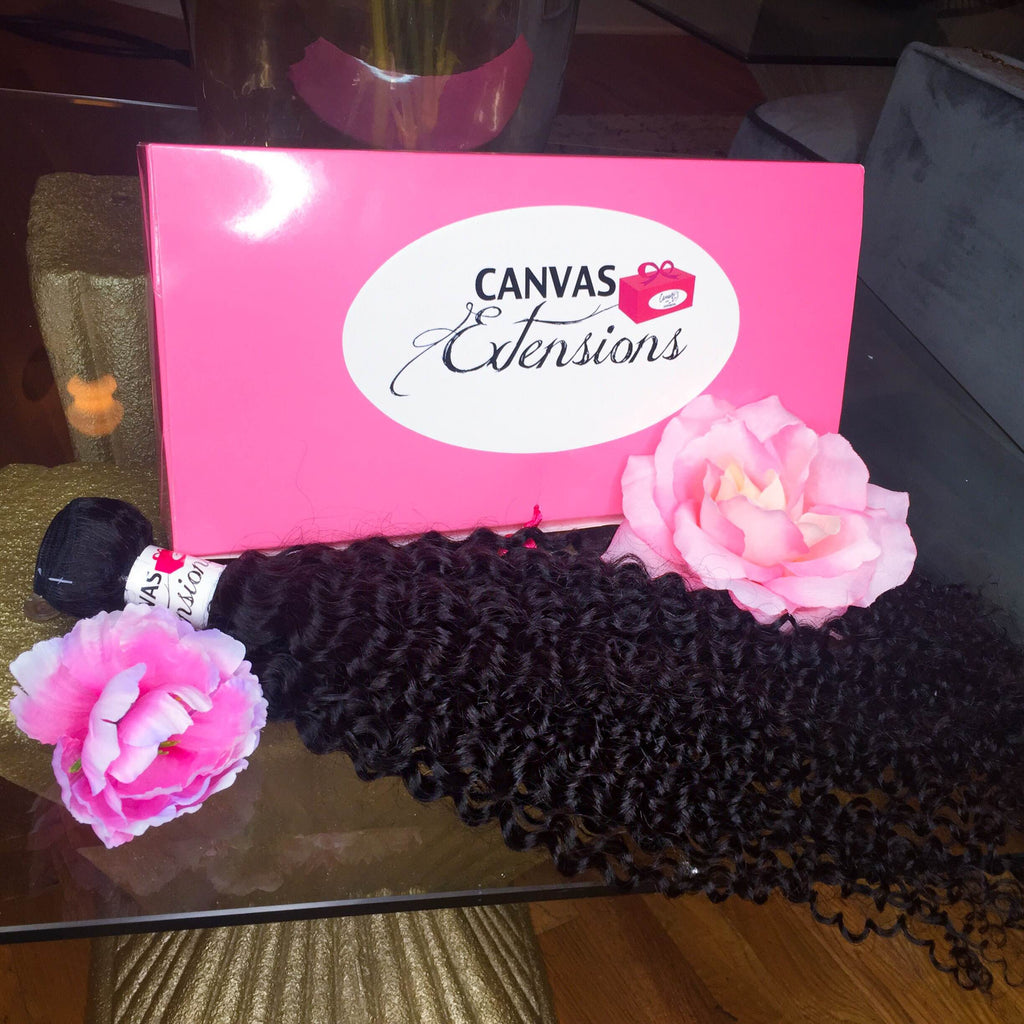 CANVAS CURLY