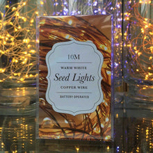 10M Seed Lights - Warm White - Copper Wire