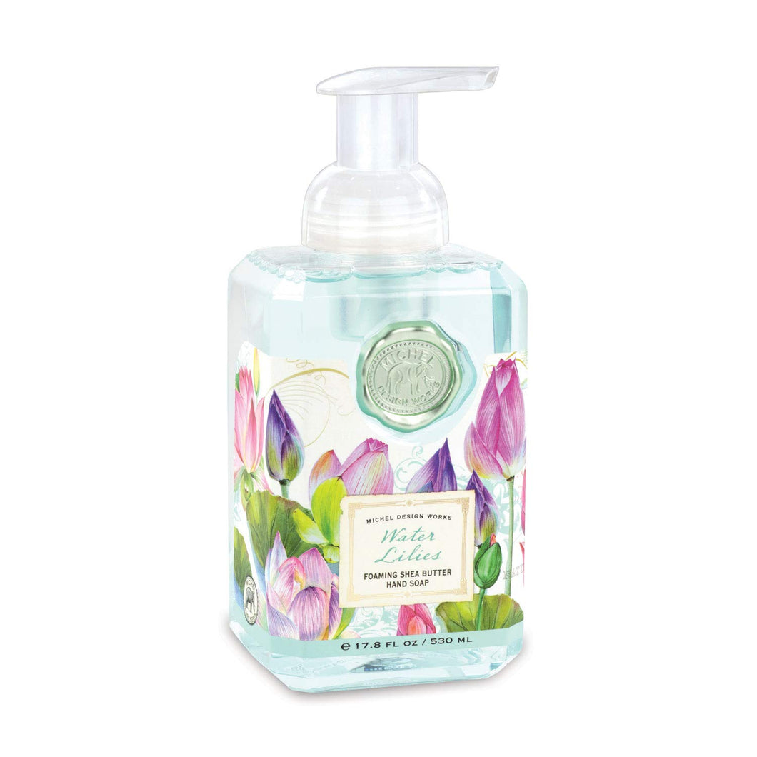 Michel Design Works Water Lilies Foaming Shea Butter Hand Soap