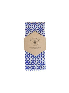 Lily Bee Wrap - Medium Single - Postiano Blue