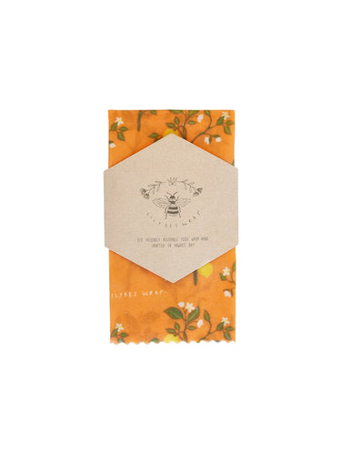 Lily Bee Wrap - Large Single - Mediterranean Lemons