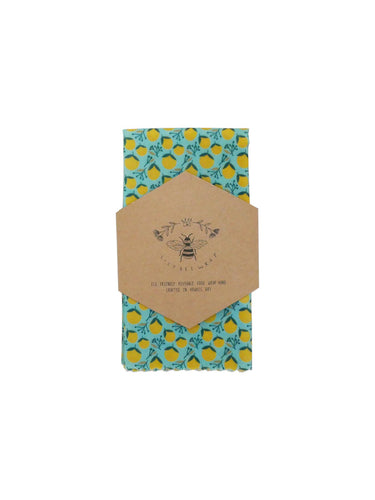 Lily Bee Wrap - Large Single - Citrus