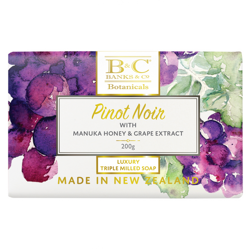 Banks and Co Pinot Noir Luxury Triple Milled Soap 200gm