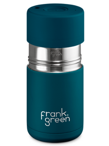 Frank Green Ceramic Reusable Cup 295ml - Marine Blue