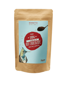 Bennetto Natural Foods co Dark Cocoa Hot Chocolate Powder 250G