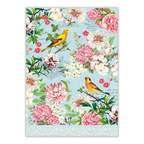 Michel Design Works Garden Melody Tea Towel