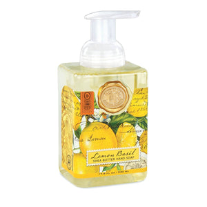 Michel Design Works Lemon Basil Foaming Shea Butter Hand Soap