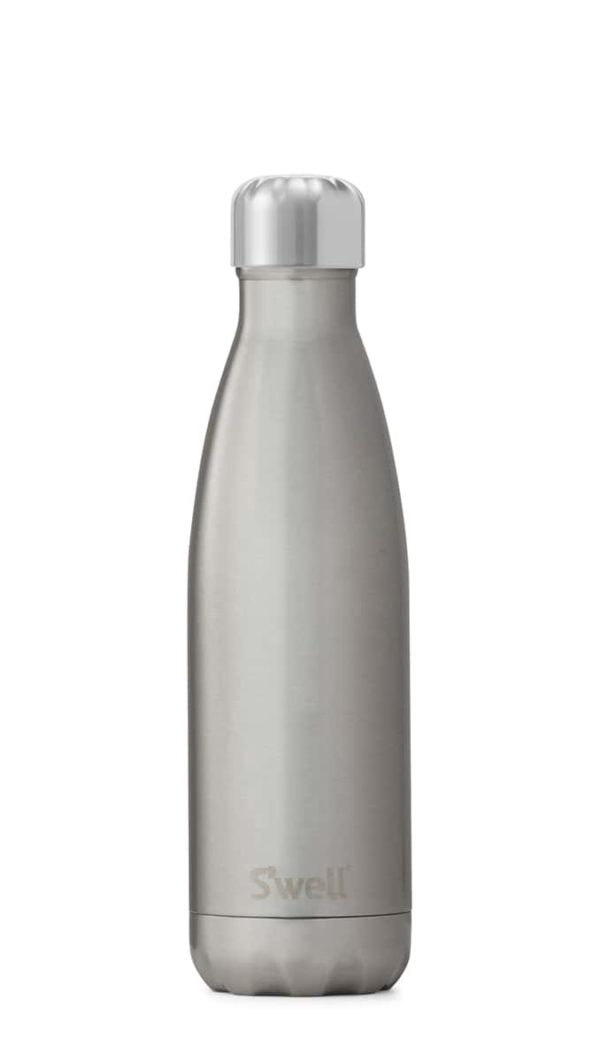S'Well Shimmer Collection Insulated Bottle - Silver Lining - 500ml